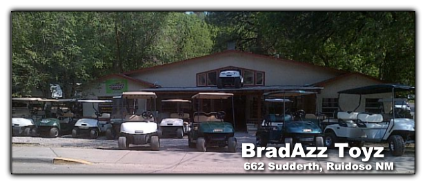 Custom and Refurbished Golf Carts - BradAzz Toyz - Ruidoso NM